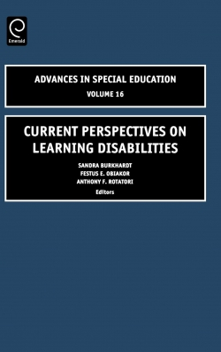 Jacket image for Current Perspectives on Learning Disabilities