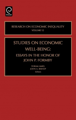 Jacket image for Studies on Economic Well Being