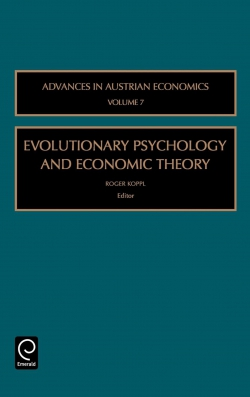 Jacket image for Evolutionary Psychology and Economic Theory