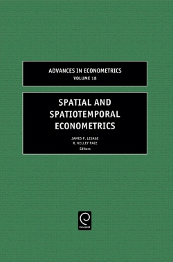 Jacket image for Spatial and Spatiotemporal Econometrics