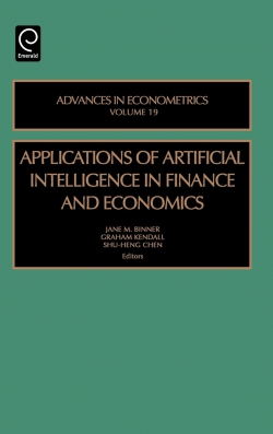 Jacket image for Applications of Artificial Intelligence in Finance and Economics