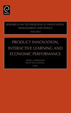 Jacket image for Product Innovation, Interactive Learning and Economic Performance