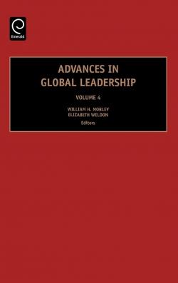 Jacket image for Advances in Global Leadership