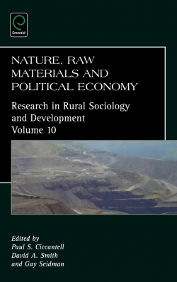Jacket image for Nature, Raw Materials, and Political Economy