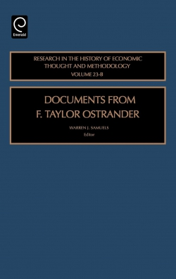 Jacket image for Documents from F. Taylor Ostrander