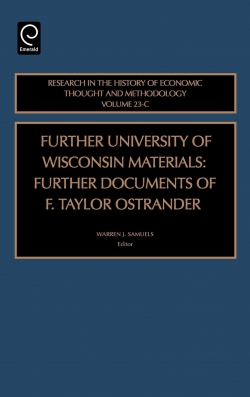 Jacket image for Further University of Wisconsin Materials