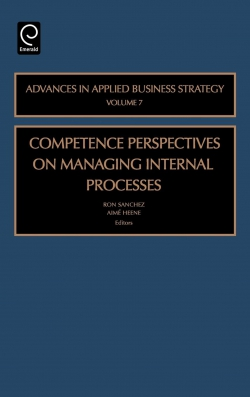 Jacket image for Competence Perspective on Managing Internal Process