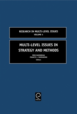 Jacket image for Multi-Level Issues in Strategy and Methods