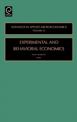 Jacket image for Experimental and Behavorial Economics