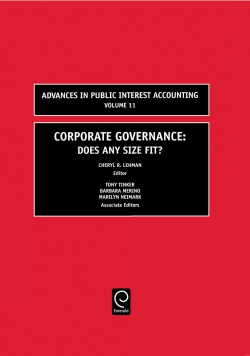 Jacket image for Corporate Governance