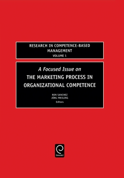 Jacket image for Focused Issue on The Marketing Process in Organizational Competence
