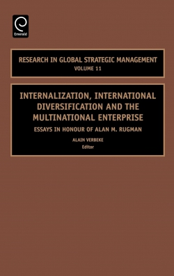 Jacket image for Internalization, International Diversification and the Multinational Enterprise