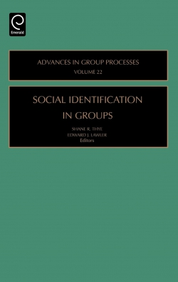 Jacket image for Social Identification in Groups