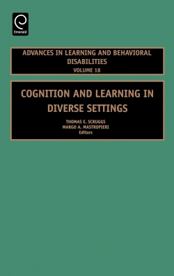 Jacket image for Cognition and Learning in Diverse Settings