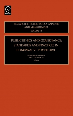 Jacket image for Public Ethics and Governance