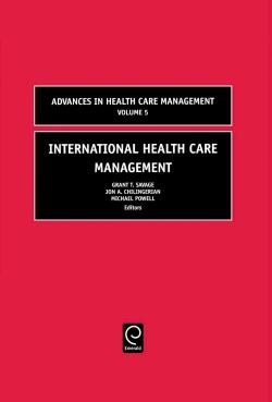 Jacket image for International Health Care Management