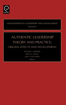 Jacket image for Authentic Leadership Theory and Practice