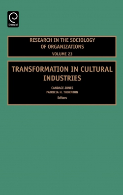 Jacket image for Transformation in Cultural Industries