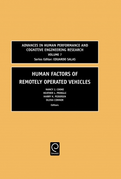 Jacket image for Human Factors of Remotely Operated Vehicles