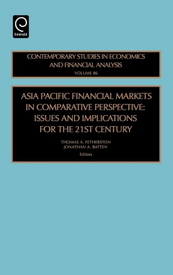 Jacket image for Asia Pacific Financial Markets in Comparative Perspective