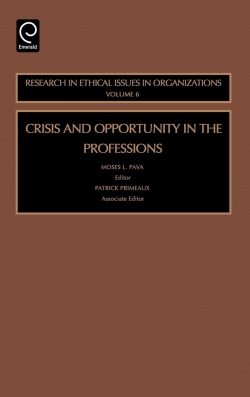 Jacket image for Crisis and Opportunity in the Professions