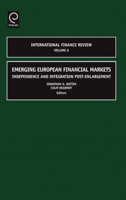 Jacket image for Emerging European Financial Markets