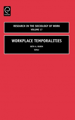 Jacket image for Workplace Temporalities