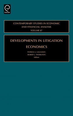 Jacket image for Developments in Litigation Economics