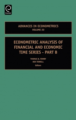 Jacket image for Econometric Analysis of Financial and Economic Time Series