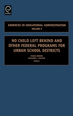 Jacket image for No Child Left Behind and other Federal Programs for Urban School Districts