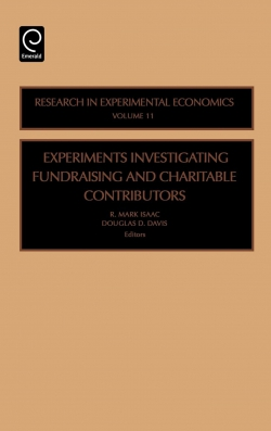 Jacket image for Experiments Investigating Fundraising and Charitable Contributors