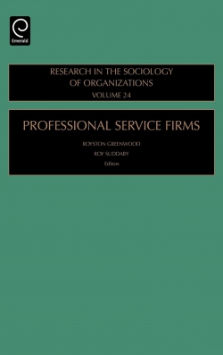 Jacket image for Professional Service Firms