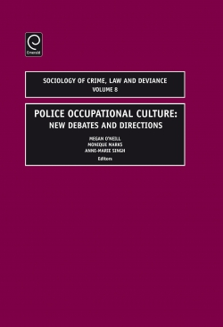 Jacket image for Police Occupational Culture