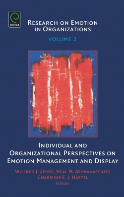 Jacket image for Individual and Organizational Perspectives on Emotion Management and Display