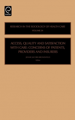 Jacket image for Access, Quality and Satisfaction with Care