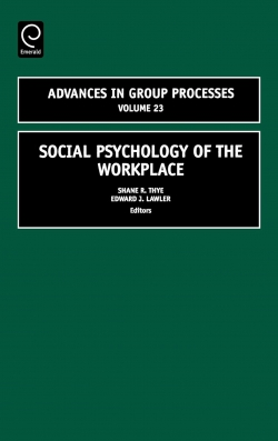 Jacket image for Social Psychology of the Workplace