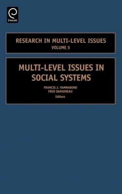 Jacket image for Multi-Level Issues in Social Systems