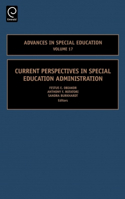 Jacket image for Current Perspectives in Special Education Administration
