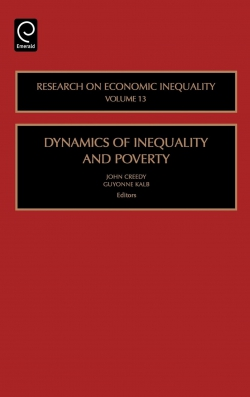 Jacket image for Dynamics of Inequality and Poverty