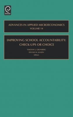 Jacket image for Improving School Accountability - Check-Ups or Choice
