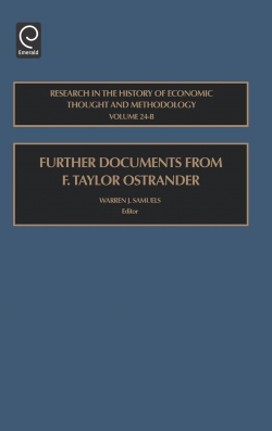 Jacket image for Further Documents from F. Taylor Ostrander
