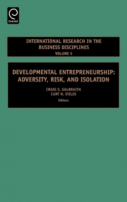 Jacket image for Developmental Entrepreneurship