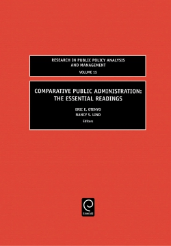 Jacket image for Comparative Public Administration