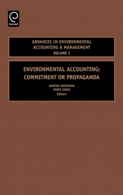 Jacket image for Environmental Accounting