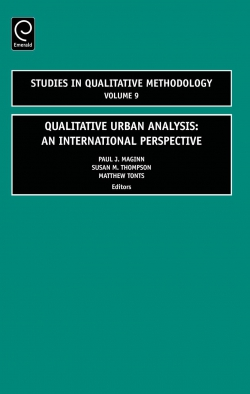Jacket image for Qualitative Urban Analysis