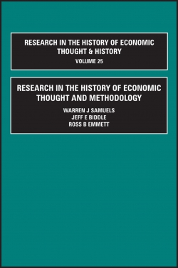 Jacket image for Research in the History of Economic Thought and Methodology (Part A, B & C)