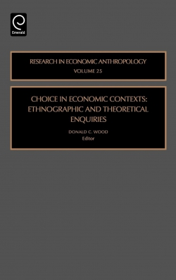 Jacket image for Choice in Economic Contexts