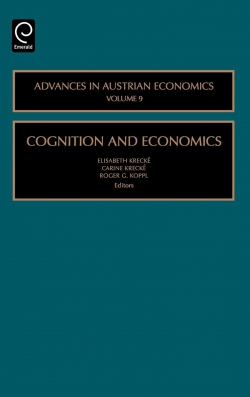 Jacket image for Cognition and Economics