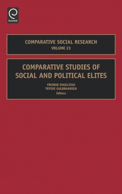 Jacket image for Comparative Studies of Social and Political Elites