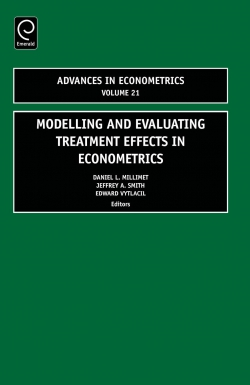 Jacket image for Modelling and Evaluating Treatment Effects in Econometrics